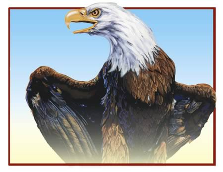 Standing Eagle by Jack Knight, Artist