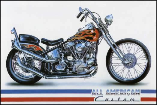 All American Custom by Jack Knight, Artist