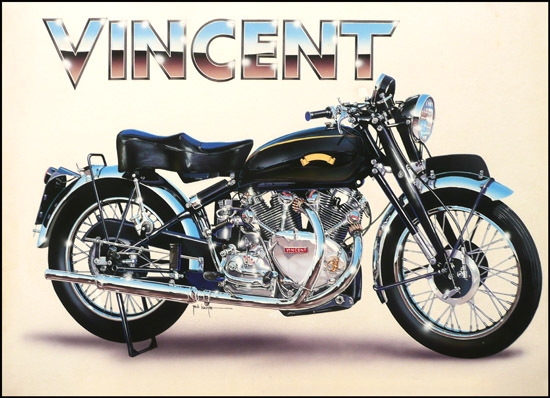 Vincent by Jack Knight, Artist