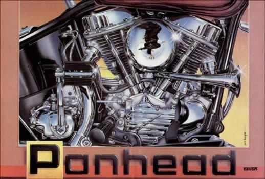 Panhead by Jack Knight, Artist